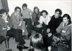 28 València 1971 II Festival de la Canción Ibérica: Favio, Zeca Afonso, Miro Casabella, C. Carlsen, Poni M., Paco Ibañez, Mª del Mar Bonet (cortesía de una amiga)