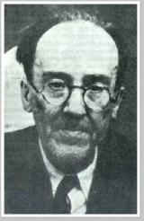 Última foto tomada del viejo profesor Antonio Machado poco antes de su fallecimiento (tomada de http://www.sbhac.net/)