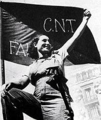 Mujer de la CNT