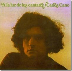 1976 Carlos Cano - A la luz de los cantares (Frontal)