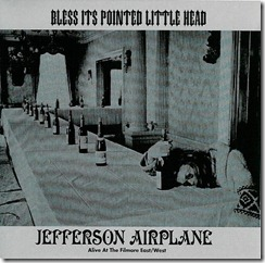 Jefferson Airplane - 1969 - Bless Its Pointed Little Head - Front