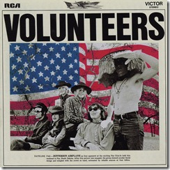 Jefferson Airplane - Volunteers - Front