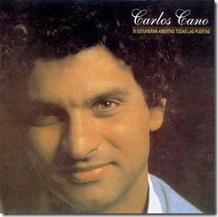 Carlos Cano - Si estubieran todas las puertas - portada