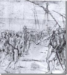 La Expulsión de los Moriscos. Vicente Carducho. Museo del Prado, Madrid.