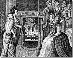 El encuentro de Grace O'Malley y la reina Isabel I