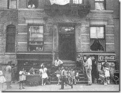 Calle de Harlem, hacia 1930