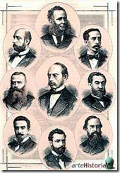 Fundadores de la Institución Libre de Enseñanza