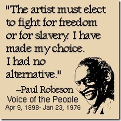Paul Robeson: Voice of the People