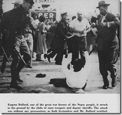 Eugen Bullard, héroe de guerra, derribado por los hombres del sheriff