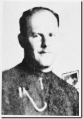 """Miroslva Filipovic, franciscano croata que dirigió el campo de exterminio de Josenovac, a quien los prisioneros llamaban """"hermano Satanás"""""""