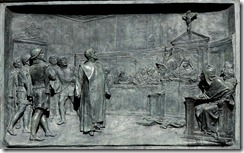 Proceso a Giordano Bruno, bronce de Etorre Ferrari. Campo de'Fiori, Roma