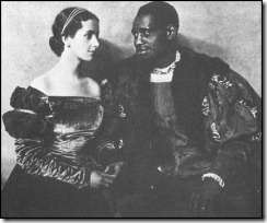 Peggy Ashcroft and Paul Robeson in Othello in 1930