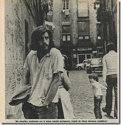 """De """"Cantar en España"""", entrevista de Álvaro Feito (8-1-77)"""