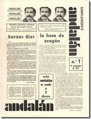 Nº 1 de la revista Andalán