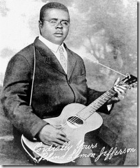 Blind Lemon Jefferson, hacia 1926
