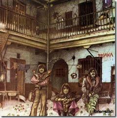El Patio (1975); front by Máximo Moreno