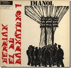 Herriak ez du barkatuko (1975); front by Agustín Ibarrola