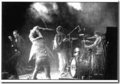 Final de la actuación de los Who