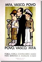 Cartel en solidaridad de Vasco Gonçalves