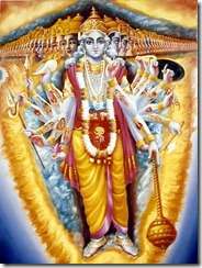 La Forma Universal: la forma de Krishna como Señor del Universo