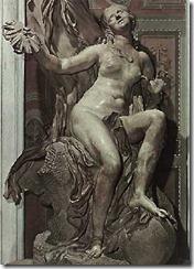 La verdad desvelada por el tiempo; Bernini