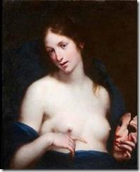 La Verdad. Francesco Furini. Lienzo. 71 x 56 cm. Palacio de Liria