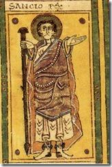 Sancho II of Pamplona. From the Codex Vigilanus.