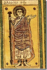 Sancho II of Pamplona. From the Codex Vigilanus.