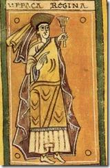 Urraca Fernández of Castile. From the Codex Vigilanus.