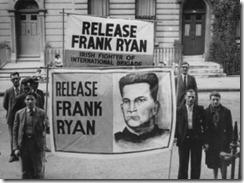 Pidiendo la liberación de Frank Ryan