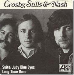 Lanzada como sencillo junto a Long time gone, canción algo más política de David Crosby