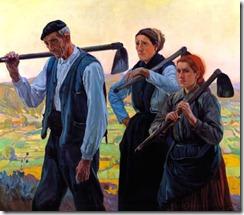 Basque labourers. Author?