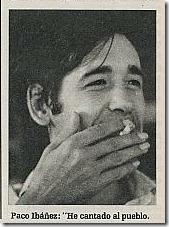 """I've been singing for the people"", Paco Ibáñez (www.triunfodigital.com)"