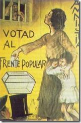 La propaganda del Frente Popular giró en torno a la amnestía de los detenidos de Asturias