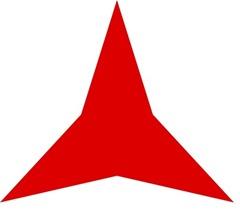 El logo y la bandera del Frente Popular se correspondía también con el emblema adoptado por la AIDC y, posteriormente, por las Brigadas Internacionales