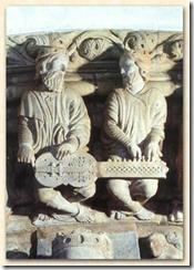 Organistrum del Pórtico de la Gloria de la catedral de Santiago de Compostela