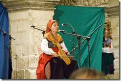 Rebec player from Santillana del Mar, Cantabria