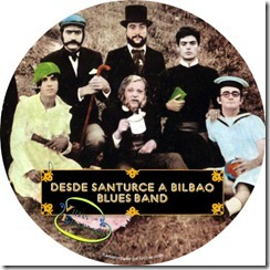 Desde Santurce a Bilbao Blues Band - Vidas Ejemplares Carátula CD