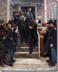 """""""Los últimos instantes de John Brown"""", de Thomas Hovenden (1882-1884)"""
