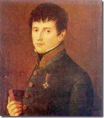 Portrait of Rafael del Riego; anonymous