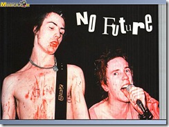 Sid Vicious y Johnny Rotten