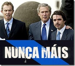 "Blatantly, chairman Aznar was looking the ""right"" position for the photograph"