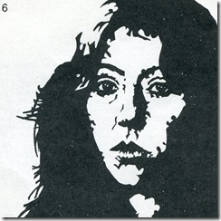 TERESA CANO, drawing of the album