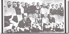 Las formaciones de los equipos del Start y del Flakelf