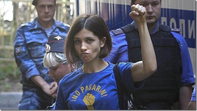 Nadezhda Andreevna Tolokonnikova