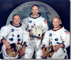 Armstrong, Michael Collins, and Buzz Aldrin