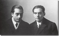Lorca y Emilio Aladrén