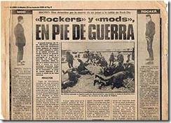 """El periódico de sucesos """"El Caso"""" se hacía eco de la batalla en el Rock-Ola"""