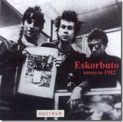 Eskorbuto - Ensayos 1982 - Front