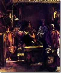 """""""La Expulsión de los Sefardíes"""", Emilio Sala, s. XVII"""